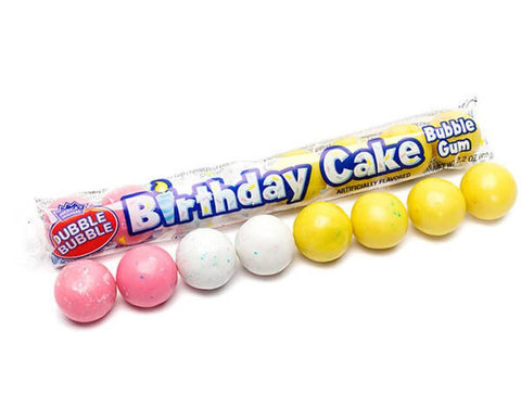 Dubble Bubble Pack Birthday Cake (62g) Sugarliciousltd