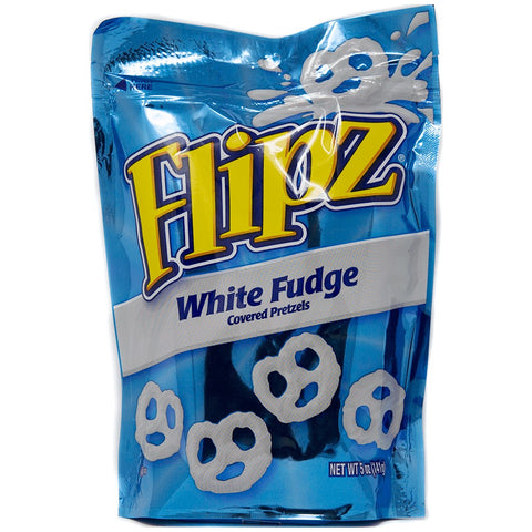 Flipz White Fudge Bag (141g) Sugarliciousltd