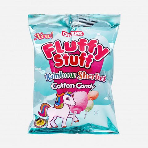 Fluffy Stuff Cotton Candy - Rainbow Sherbet (60g) Sugarliciousltd