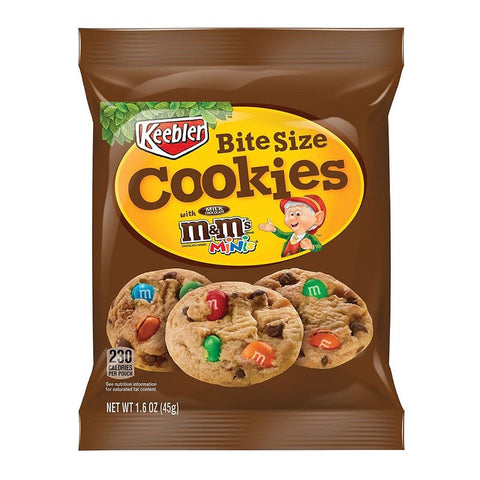 Keebler M&M Cookies (45g) Sugarliciousltd