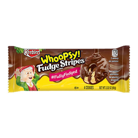 Keebler Whoopsy! Fudge Stripes (65g) Sugarliciousltd