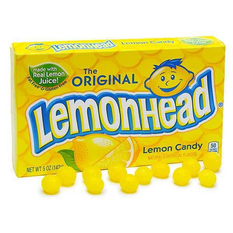 Lemonhead Original Theatre Box (142g) Sugarliciousltd