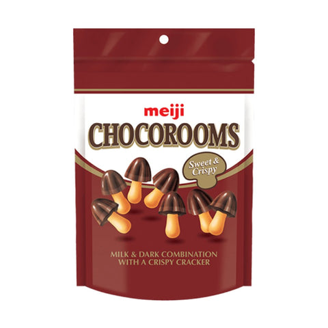 Meiji Chocorooms (38g) - Chocolate and Strawberry Sugarliciousltd