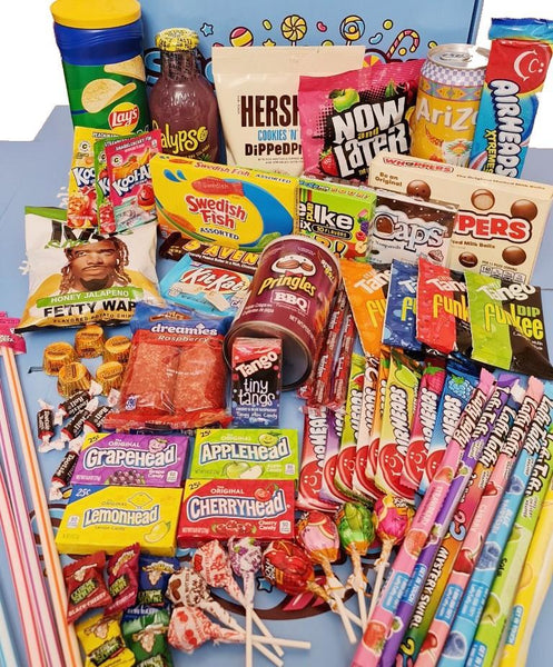Mystery Sweet Box With Drinks Box Sugarliciousltd