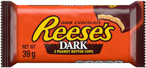 Reese's Dark Chocolate Peanut Butter Cups (39g) Sugarliciousltd
