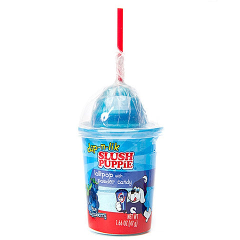 Slush Puppie Dip-N-Lik Lollipop With Powder (47g) Sugarliciousltd