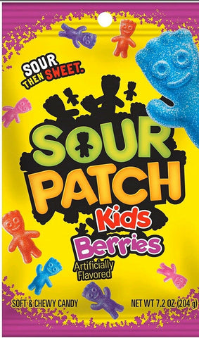 Sour Patch Kids Berries (204g) Sugarliciousltd