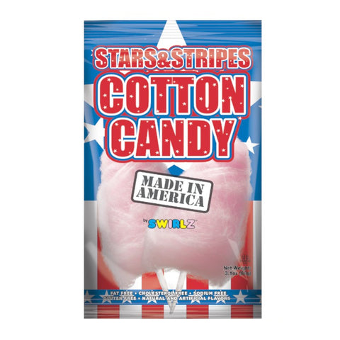 Stars and Stripes Cotton Candy (88g) Sugarliciousltd