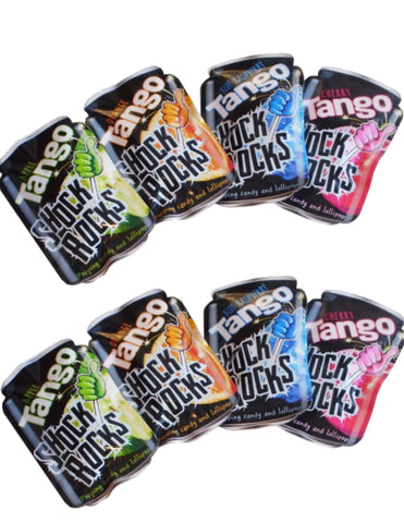 Tango Shock Rocks (13g) - Popping Candy & Lollipop Sugarliciousltd