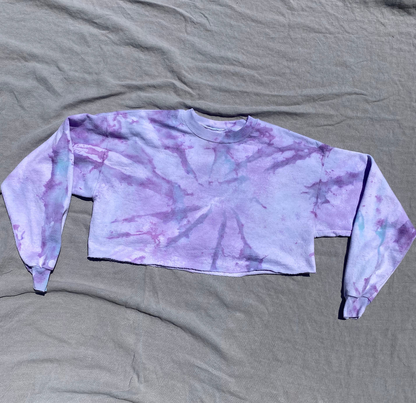 Cosmo Crop Sweatshirt 1