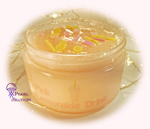 Pink Lemonade Drink - Pearl Jellyfish Slime