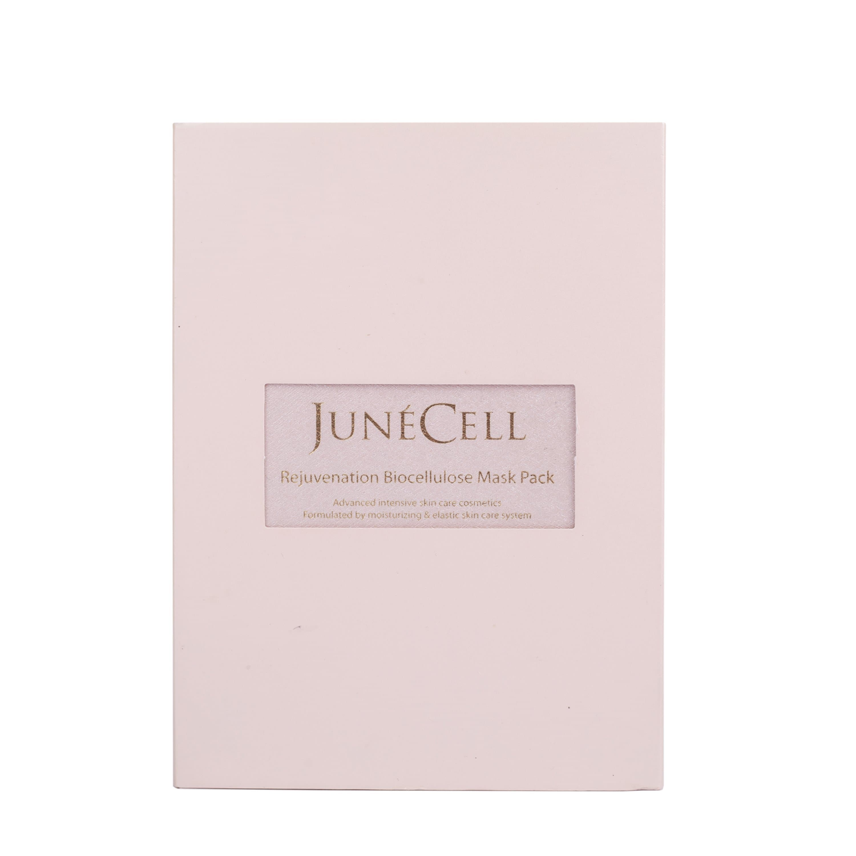 JunéCell Rejuvenation Biocellulose Mask - Pack of 5 - Science To Skin