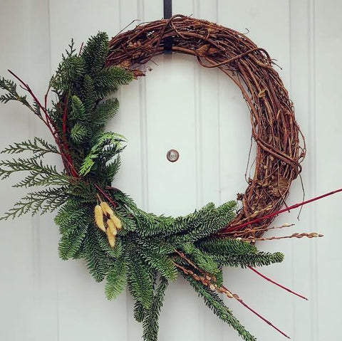 Fresh designer's choice wreath (Saint Louis only)