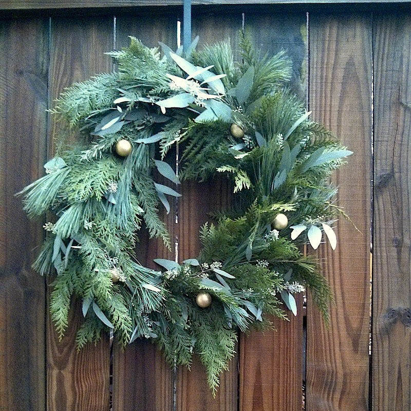 Mixed greens wreath (Saint Louis only)