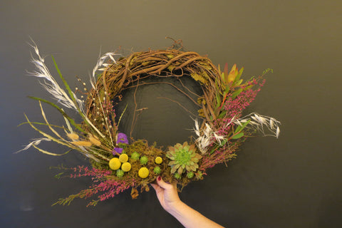 Wreath Making Workshop - March 14