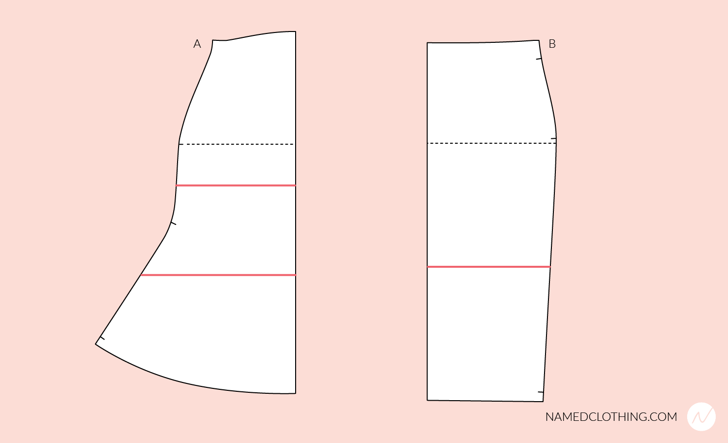 Altering the side length of the pattern
