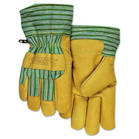 GLOVES,PIGSKIN,CLD WEATHR