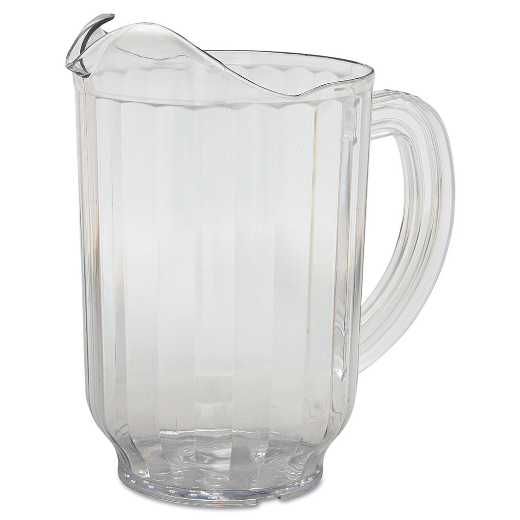 PITCHER,PLASTIC,60OZ,CLR