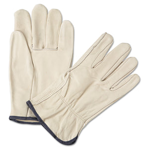 GLOVES,LEATHER,DRIVER,XL