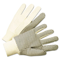 GLOVES,4505 BLK DOT CNVS