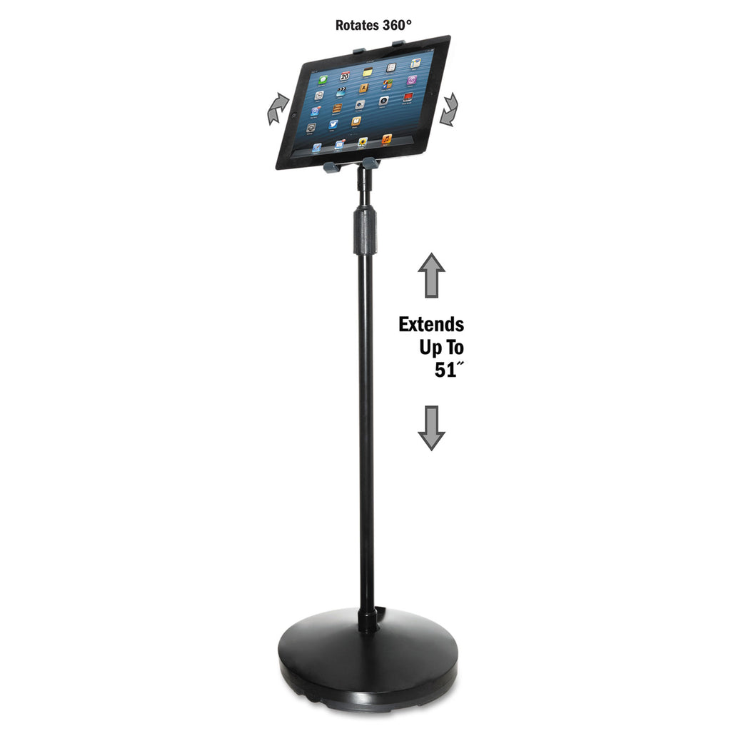 STAND,TABLET FLOOR,BK