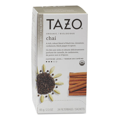 TEA,TAZO,CHAI,FILTER BG