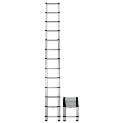 LADDER,TELESCOPIC,16'H,AL