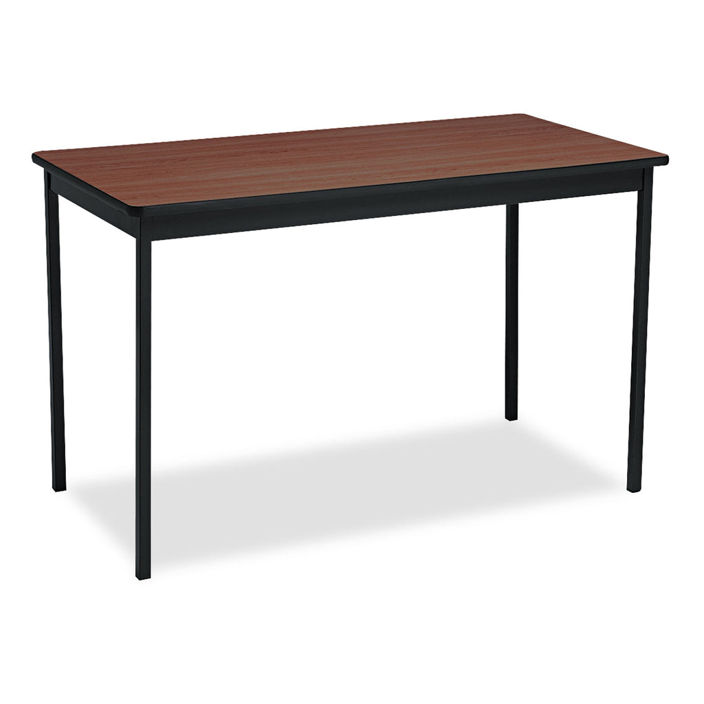TABLE,UTILTY,24X48,WL/BK