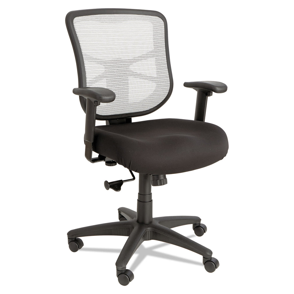 CHAIR,MESH,MIDBACK,WH