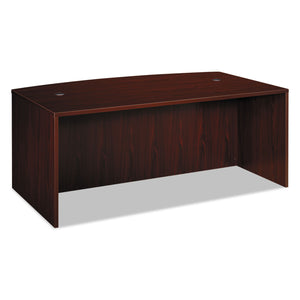 DESK,BOW FRONT 72X42,MAH