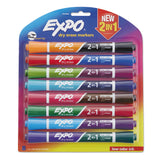 MARKER,EXPO DUAL END,8CT