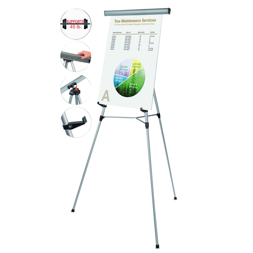 EASEL,DISPLAY,3LEG,HW,SV