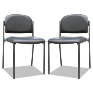 CHAIR,W/O ARMS,2/CT,BK