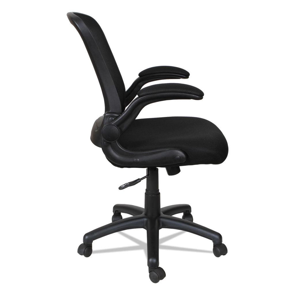 CHAIR,FLIP ARM,SWL/TLT,BK