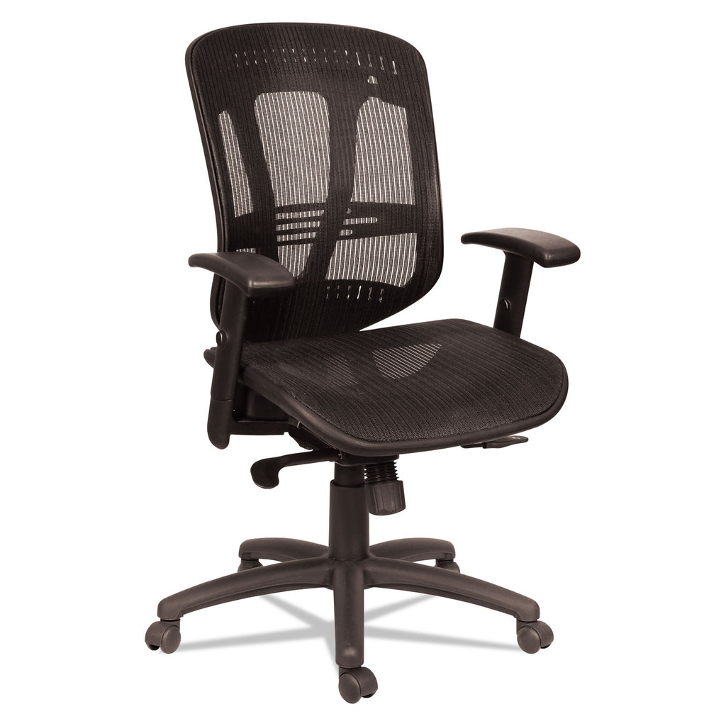 CHAIR,MESH/MESH,WIRE,BK