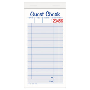 CHECK,GUEST,2-PT CRNLS,WH
