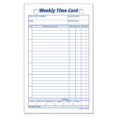 CARD,TIME,WKLY,4X7,100
