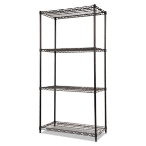 SHELVING,WIRESTART36X18BK