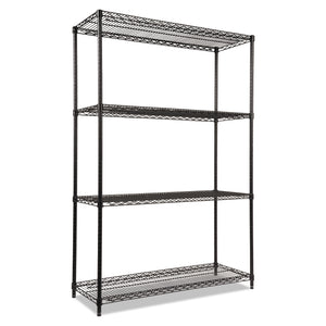 SHELVING,WIRESTART48X18BK