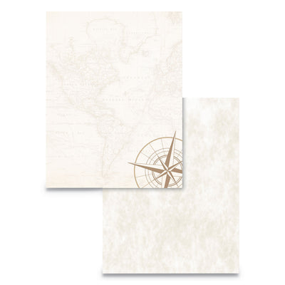PAPER,PP-PARCH MAP,50/PK