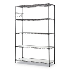 SHELVING,WIRE,48X18,5S,SV