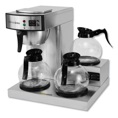 COFFEEMAKER,3 BURNER LOW