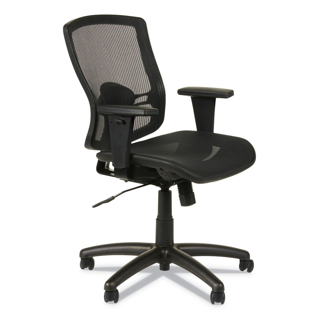 CHAIR,MB, MESH SEAT,BK