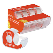 TAPE,W/DISPENSER,4PK,CLR