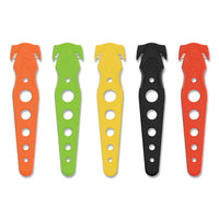 KNIFE,SFTY CUTTER,5PK,AST