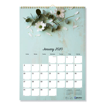 ROMANTIC WALL CALENDAR