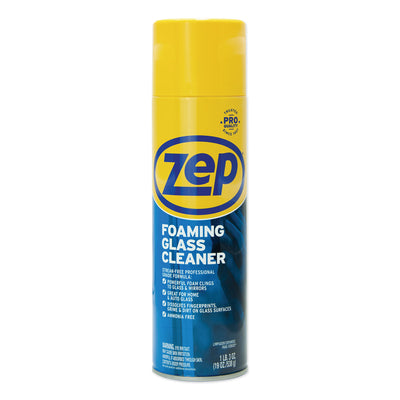 CLEANER,FOAM,GLASS,19OZ