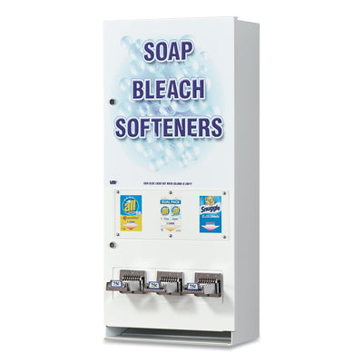 DISPENSER,SOAP,3COLUMNS
