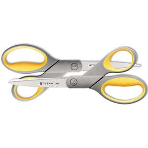 "SCISSORS,8"" STR,2PK,GY"