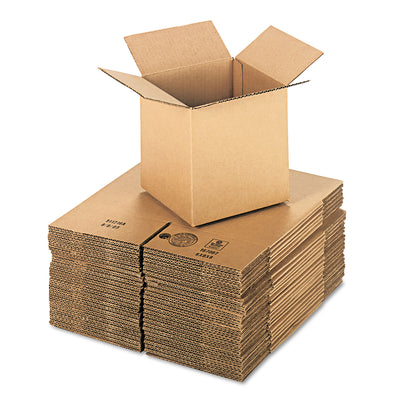 BOX,8X8X8CORRUGATED,BRKR